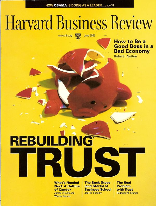 Yes apologise, Harvard business review assholes very much
