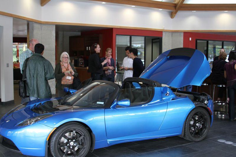 CFI Goes to the Tesla Dealer