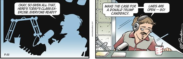 Trimmed version Doonesbury donald