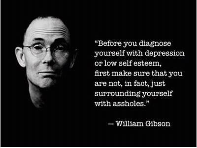 William Gibson on Assholes
