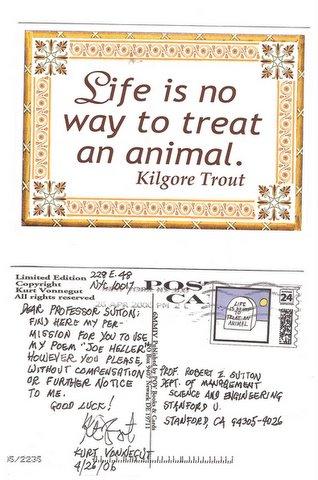 Vonnegut Postcard