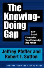Knowing -Doing Gap